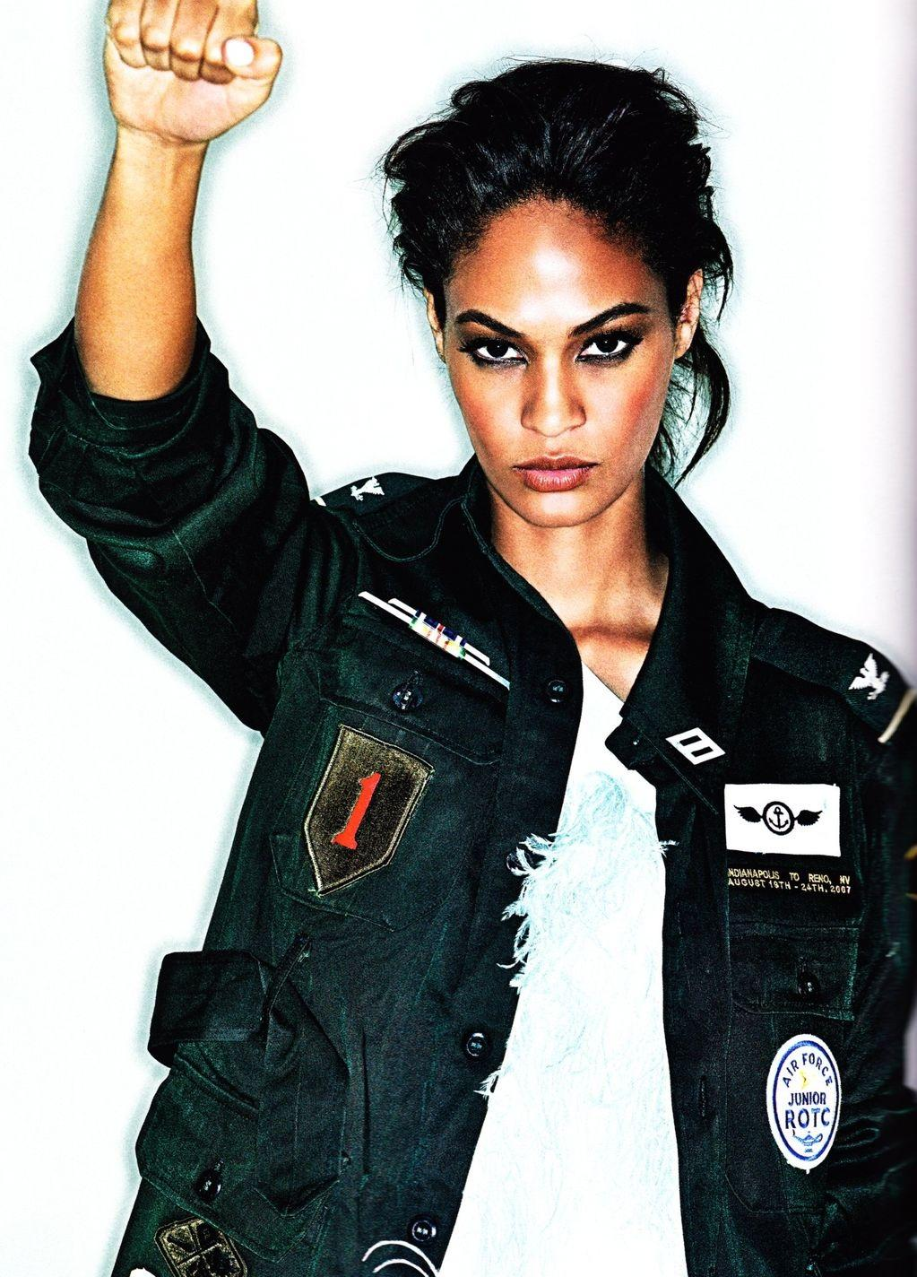 Joan Smalls Elle Uk